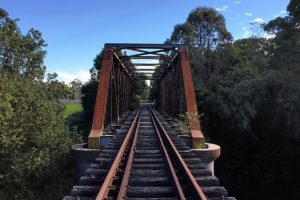 Rail trail vision still rolling despite train talk